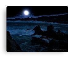 Lunar Point Canvas Print