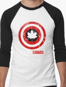 Captain Canada Men's Baseball ¾ T-Shirt