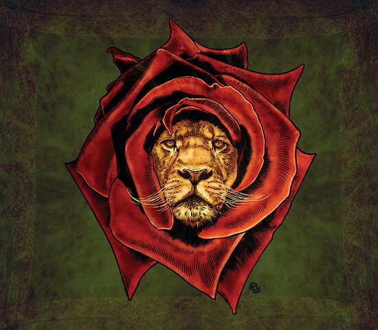 The Lion Rose by James Fosdike
