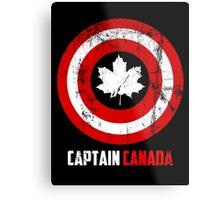 Captain Canada Metal Print