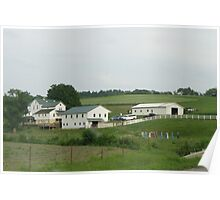 Mennonite Volleyball Poster