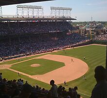 Wrigley Field by Ryan Kleczka