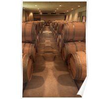 White Wine Aging Room (Robert Mondavi Winery, Napa Valley, California) Poster