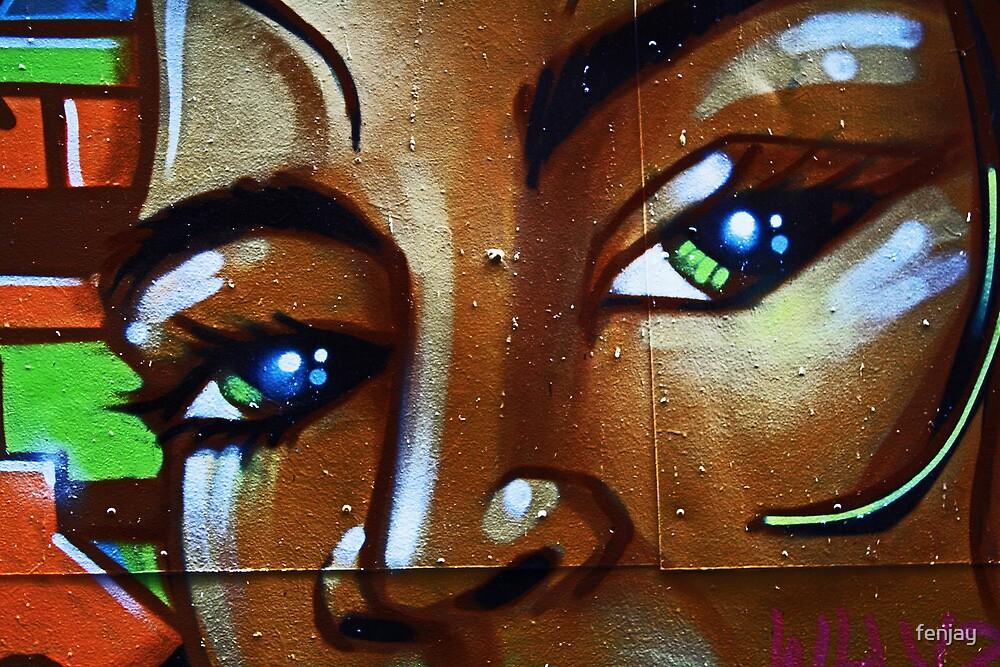 Behind Blue Eyes by fenjay