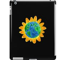 Earth Flower Watercolor  iPad Case/Skin