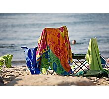 Beach Day Afternoon Photographic Print