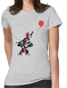 Balloon Apes Womens Fitted T-Shirt