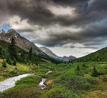 Highwood pass by zumi