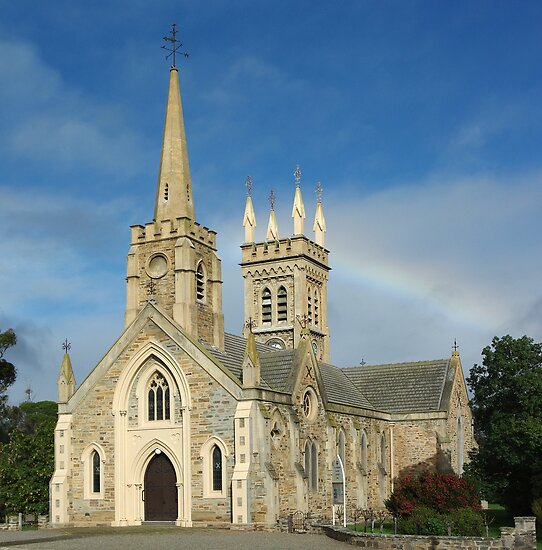 St Andrews Church, Strathalbyn by Dennis Wetherley