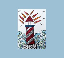 Zentangle Cape Cod Lighthouse Unisex T-Shirt