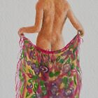 The floral sarong by Freda Surgenor