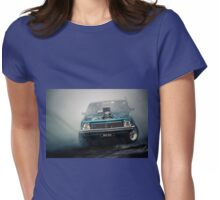 BRNRBA Motorfest Burnout Womens Fitted T-Shirt