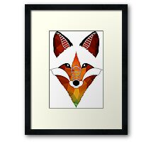 Wild Fox Framed Print
