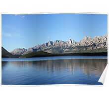 Lower Kananaskis Lake Poster