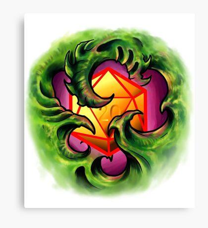 Bio Organic D20 Canvas Print