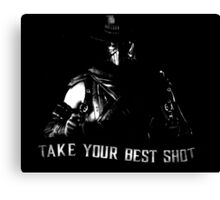 Mortal Kombat Erron Black Canvas Print