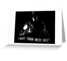 Mortal Kombat Erron Black Greeting Card