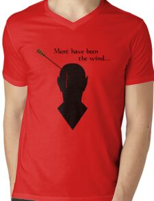 Oblivion Must Have Been The Wind Mens V-Neck T-Shirt