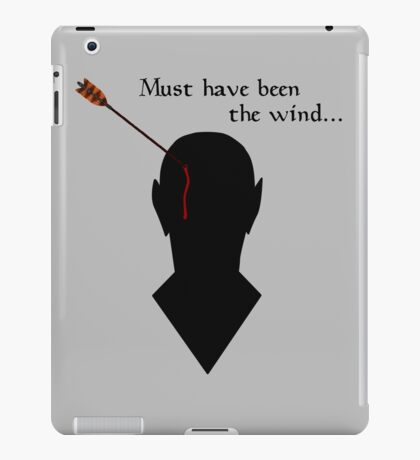 Oblivion Must Have Been The Wind iPad Case/Skin