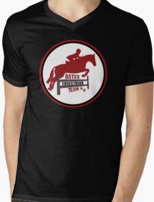 Bates Eq Team Mens V-Neck T-Shirt