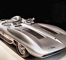 1959 Chevrolet Corvette String Ray Concept Racer by Don Siebel