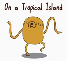Adventure Time On a Tropical Island by SanguineElf
