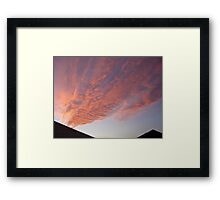 Mystery Clouds Framed Print