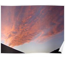 Mystery Clouds Poster