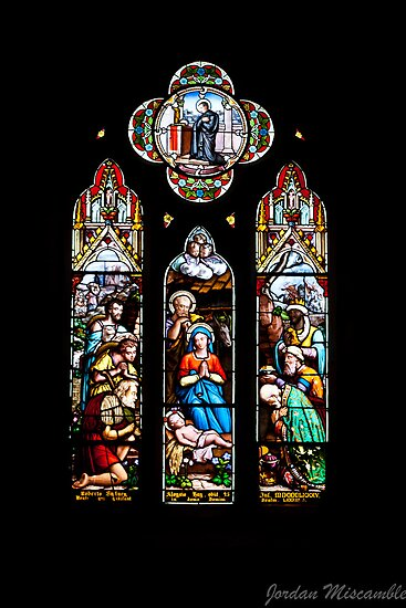 Stained Glass - St John's by Jordan Miscamble