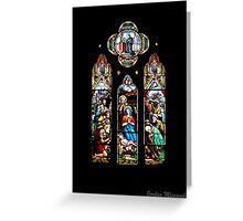 Stained Glass - St John's Greeting Card