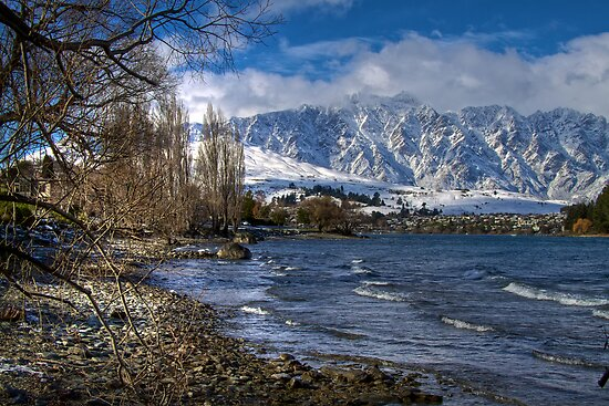 Queenstown Winter by Vince Russell