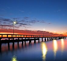 Wellington Point Qld Australia by Beth  Wode