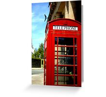Telephone Box - Liverpool Greeting Card
