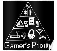 Gamer's Priority Poster