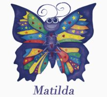 A Yoga Butterfly for Matilda Kids Tee