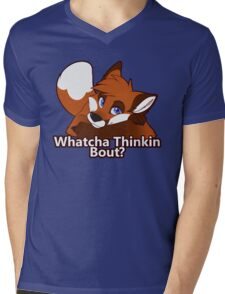 Whatcha Thinkin Bout? Mens V-Neck T-Shirt