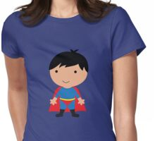 Cutie Superman Womens Fitted T-Shirt