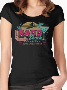 The Radd Shack Women's Fitted Scoop T-Shirt