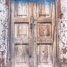 The Blue Door of Chinchero by Edith Reynolds