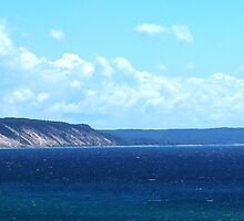 "Sleeping Bear Dunes - ""The Most Beautiful Place in America"" by BarbL"