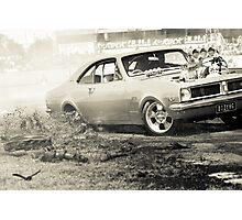 DIZYHG Tread Cemetery Burnout Photographic Print