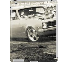DIZYHG Tread Cemetery Burnout iPad Case/Skin