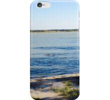 Rye harbour highest tide iPhone Case/Skin
