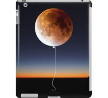 Red Balloon Moon iPad Case/Skin