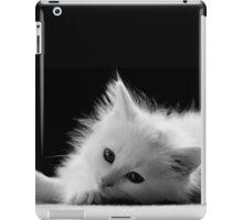 Adorable White Kitten iPad Case/Skin