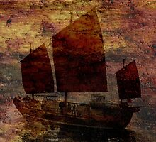 Red Sails in the Sunset by Vanessa Barklay