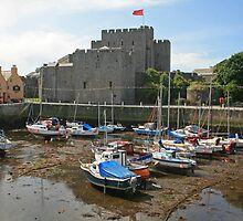 Castle Rushen by RedHillDigital