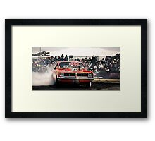 DIZYHG Tread Cemetery Burn Out Framed Print