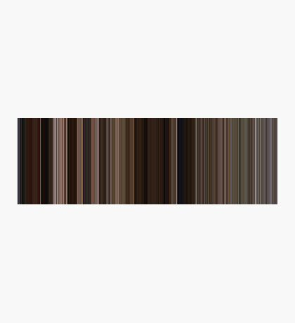 Moviebarcode: Back to the Future Part III (1990) [Simplified Colors] Photographic Print