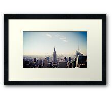 New York City, Empire State Building Framed Print